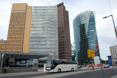 Sightseeing Tour Berlin Potsdamer Platz
